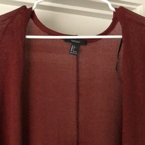 Forever 21 Long Cardigan size L
